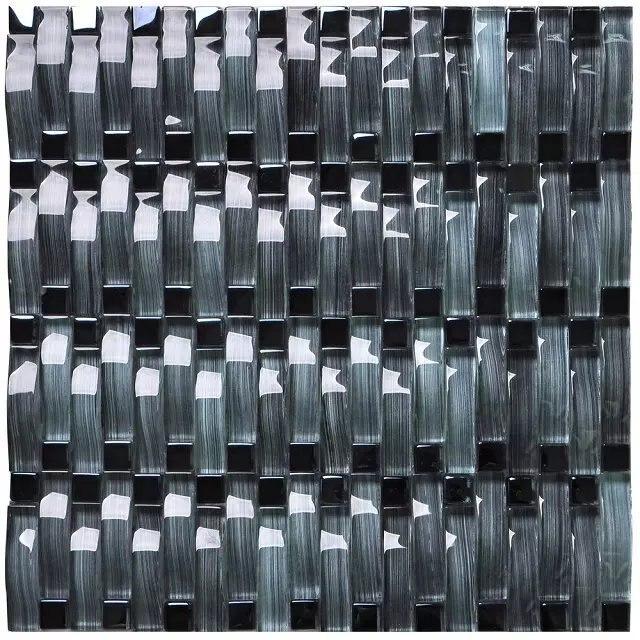 Nuevo diseño de cristal del azulejo backsplash de la cocina de color ...