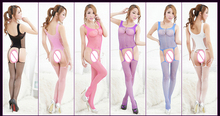 Sexy Lingerie hot Bodysuit Sexy Costumes Intimates Women Bodystocking open crotch sex products erotic lingerie Chemises qq125
