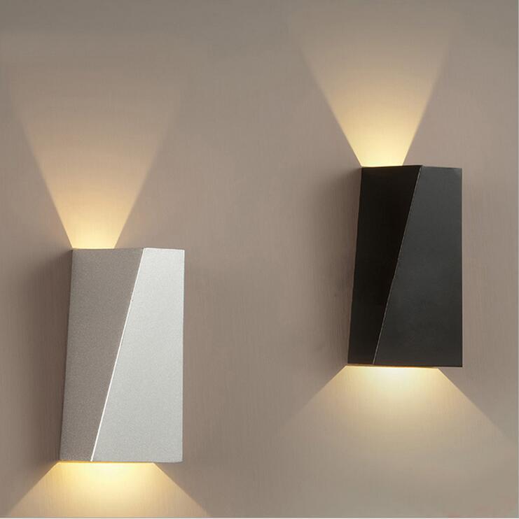 2pcs 10w nordic wall lamp bathroom mirror light fixtures. Black Bedroom Furniture Sets. Home Design Ideas