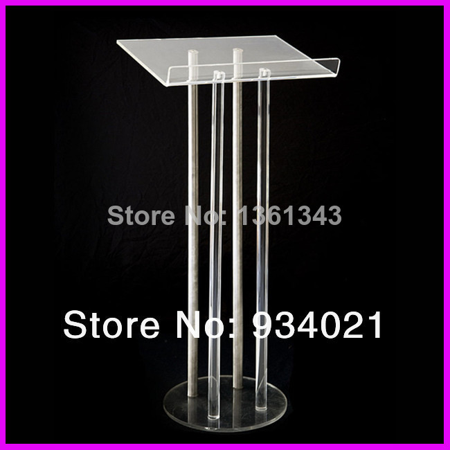 Hot SellingEco-friendly New Style Clear Acrylic Lectern