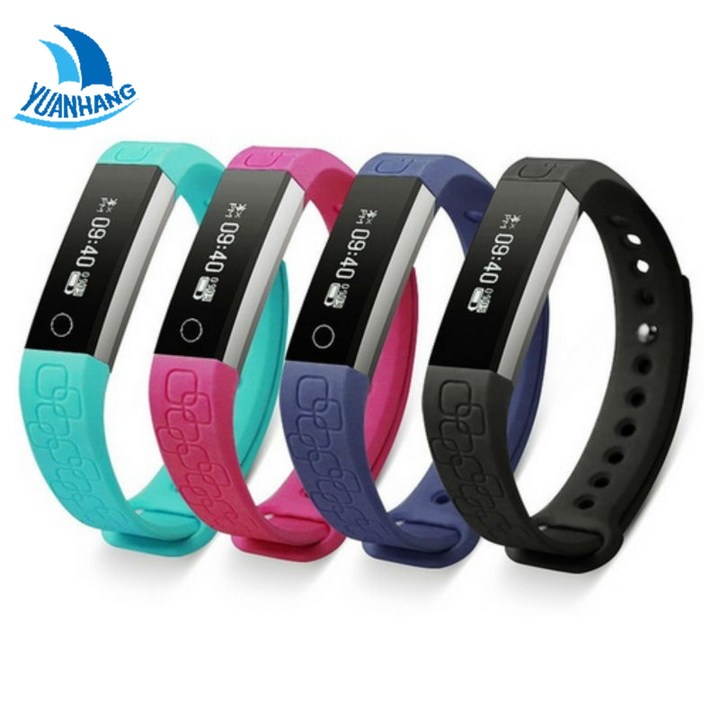 Smart Wristband Heart Rate Sleep Monitor Pedometer Health Fitness Anti lost Band Bracelet Watch For IOS