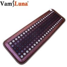 Dalekiej podczerwieni Natural Photon Jade turmalin poduszka elektryczna Pro Hot Stone Therapy Mat z inteligentny kontroler regulacja temperatury
