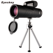 Eyeskey Handheld Monocular Large Objective lens Waterproof Telescope Quality for Hunting High Power with BaK4 Prism Optics