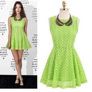 European Celebrity Designer Dresses Embroidery Sleeveless Mini ...