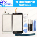 Oukitel U7 Plus Touch Screen Digitizer 100% Guarantee Original Digitizer Glass Panel Touch Replacement For Oukitel U7 Plus+Tools