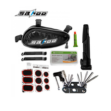 Wholesale 15Pcs SAHOO Repairing Kit Tools Set Bicycle Tyre Repair & Multifunctional Tools Set Kit with  SAHOO Bike Bag