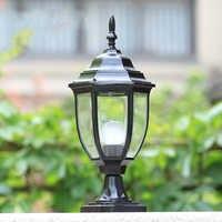 Mode pilier lumière jardin paysage colonne post lampes clôture extérieure éclairage décoratif WCS-OCL0029