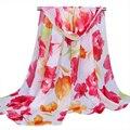 Хорошее Дело Мода Новая Коллекция Весна Лето Цветы стиль Леди Длинные Wrap Шали женщин Шифоновый Шарф Шарфы Подарок 1 ШТ.