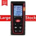 SNDWAY Mete 60 M Telémetros Láser Medidor de Distancia Láser Range Finder Ruleta Medir Distancia/Área/volumen Ángulo Láser cinta