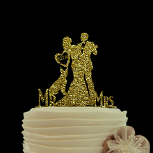Gold Glitter cake topper Mr And Mrs Wedding Cake Toppers Love With Heart Custom Date Cake Toppers For Weddings Acrylic Topper