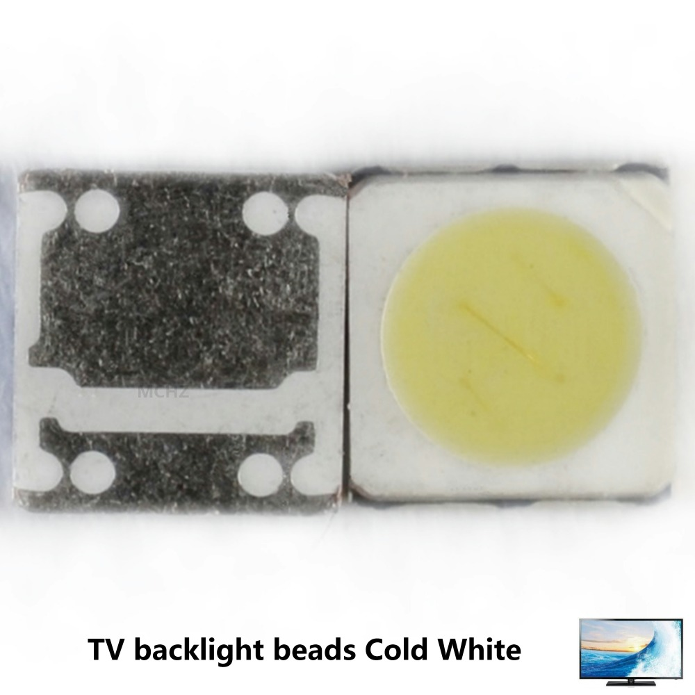 200PCS FOR LCD TV repair Replace LG SEOUL UNI led TV backlight strip lights with light-emitting diode 3535 SMD LED beads 6V-6.8V