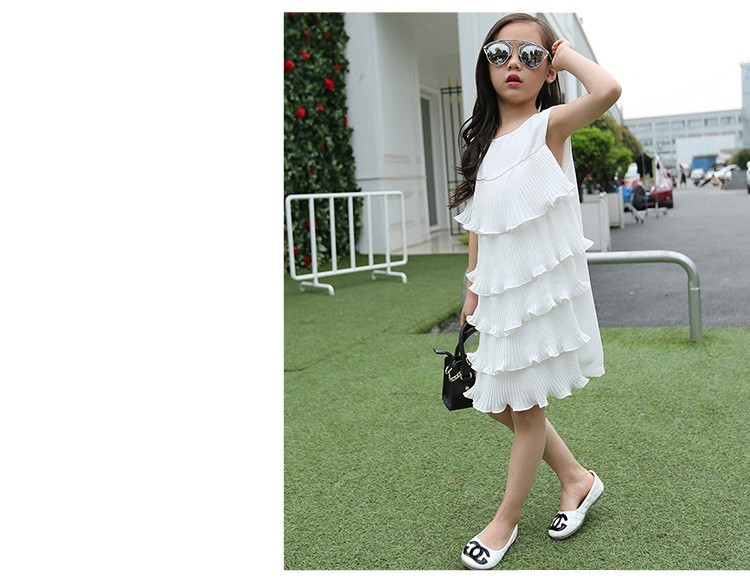 chiffon girls layered dress little teenage kids girl summer dress 2016 white red midi long dresses for girl clothes kids sundress 5 6 7 8 9 10 11 12 13 14 15 16 years old little teenage big girls dresses sleeveless children clothing (13)
