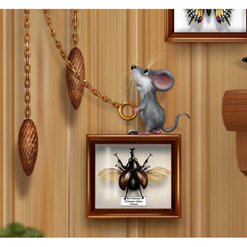 4c51fa6ea Pedrinhas 3d diy diamante bordado ponto cruz pintura rato animal presentes  de decoração para casa diamante Mosaic padrão 20 x 20 cm