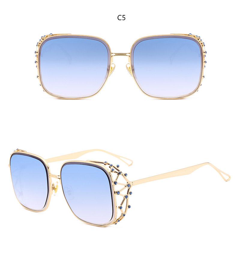 HTB1eY4pkWagSKJjy0Fbq6y.mVXaW - Steampunk Square Luxury Designer Rhinestone Sunglasses