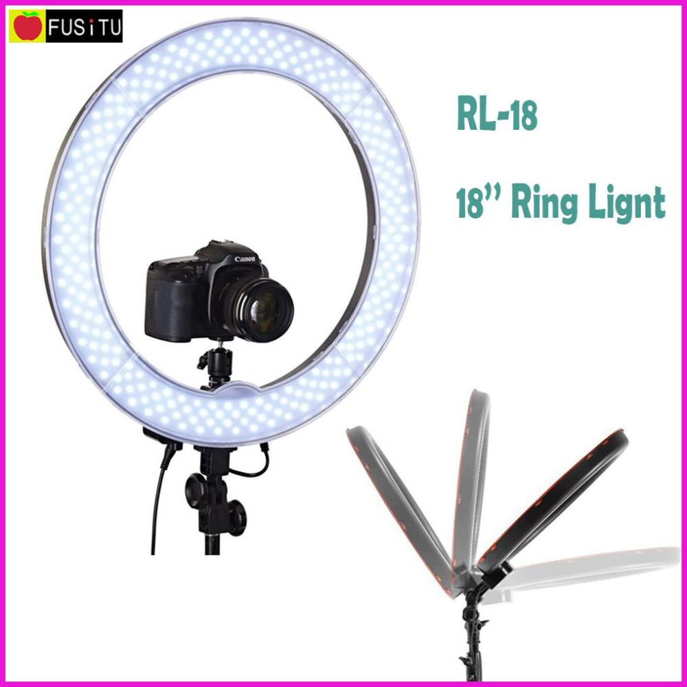 """Prix pour Meking RL-18 Caméra Photo Vidéo 18 """"55 W 240 PCS LED 5500 K Dimmable Photographie Anneau Vidéo Lumière pour caméra Remplir Lumière"""