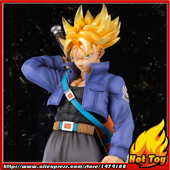 100% Original BANDAI Tamashii Nations Figuarts ZERO EX Collection Figure - Super Saiyan Trunks from Dragon Ball Z 100% original bandai tamashii nations buddies no 015 collection figure vegeta from dragon ball z