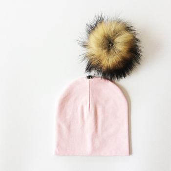 Kid's Hat With Pompon 6