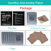 Sumifun 70Pcs Stop Anti Smoking Patch 100% Natural Ingredient Nicotine Patches for Smoking Cessation Medical Plaster D0583 2
