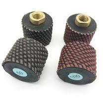 цена на 2 2 inch 50mm Dry Diamond Polishing Drum Wheels for Granite Concrete Sink Cutouts M14 5/8-11 thread