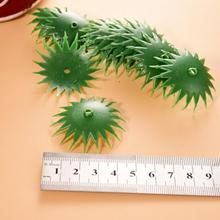 Bowl-Base Soap Flower-Making Green Peony Chrysanthemum Daisy Plastic Artificial for DIY