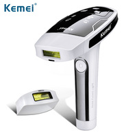Kemei6812 Photon Laser Body Hair Removal Permanent Painless Lady Epilator 100 240V