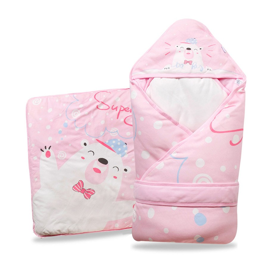 Baby Wrapped Blanket Warm Care (4)