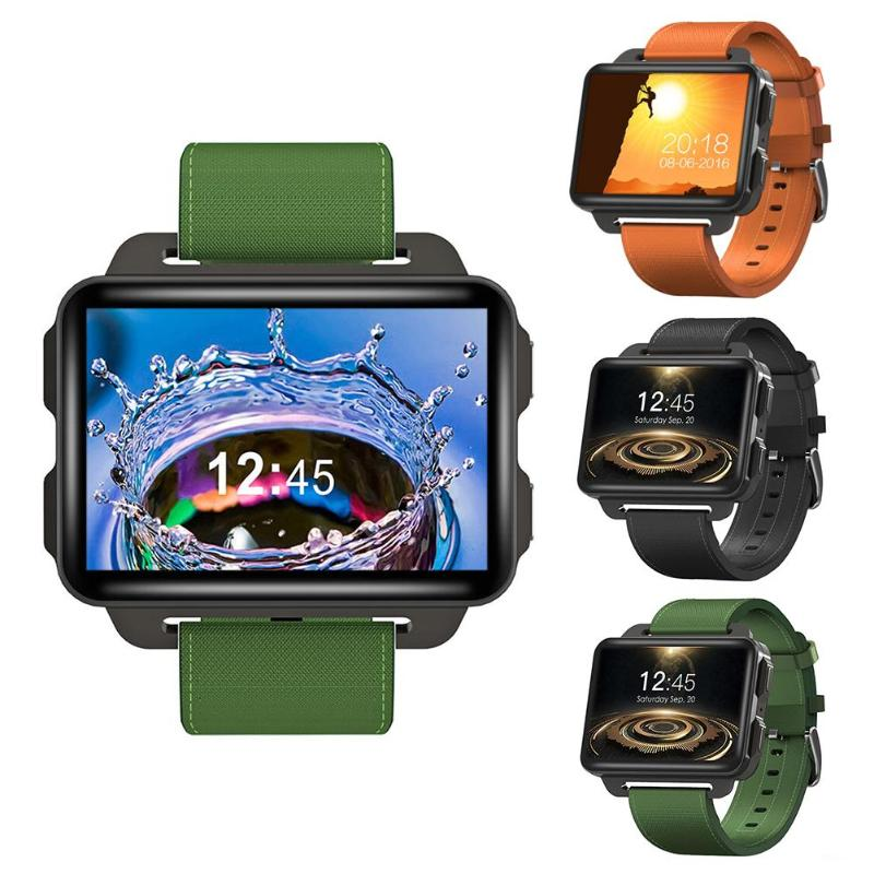 ALLOYSEED DM99 Smartwatch Android 5.1 2.2in 1GB+16GB Quad Core Heart Rate 3G Calling WIFI Bluetooth GPS 1.3MP Camera Smart Watch s216 bluetooth android smart watch 1gb 16gb mtk6580m quad core gps wristwatch camera heart rate monitor 3g sim wifi pedometer