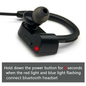 Image 2 - XEDAIN مقاوم للماء سماعة رأس لاسلكية ستيريو بلوتوث سماعات في الأذن بلوتوث سماعة مشغل MP3 مع ميكروفون آيفون