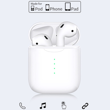 I10 Tws Wireless Charge Support Earphones Earphone Bluetooth 5.0 Earbuds Touch Control Headset