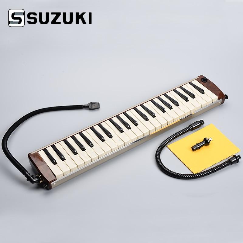 где купить Suzuki Hammond PRO-44H Acoustic-Electric Melodion 44Key Melodica with Case Professional Performance по лучшей цене