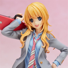20cm Your Lie in April Miyazono Kaori collectors Japanese action figure toys Christmas gift toy with box все цены