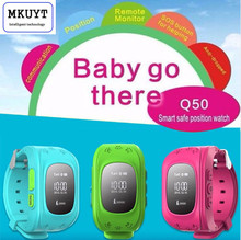 MKUYT Q50 Kind GPS Uhr Anti Verloren Smart Uhr mit Oled-display Kind GPS-Position Smartwatch für iOS Android-Handy