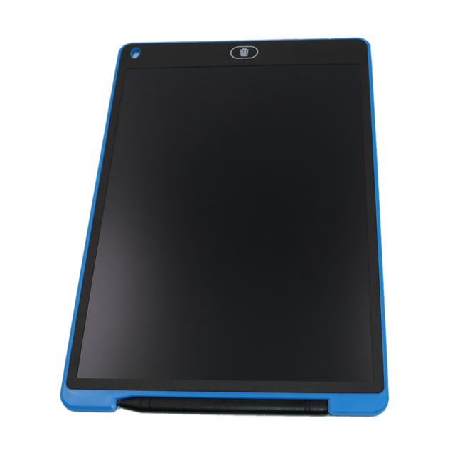 hot-12 inch LCD e-Writer Tablet Writing Drawing Memo Message Black Boogie Board 4