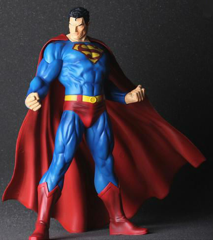 In-Stock /High quality Toys Western Animiation Superman Action Figure Collectible Model Toy PVC 11 27CM N16