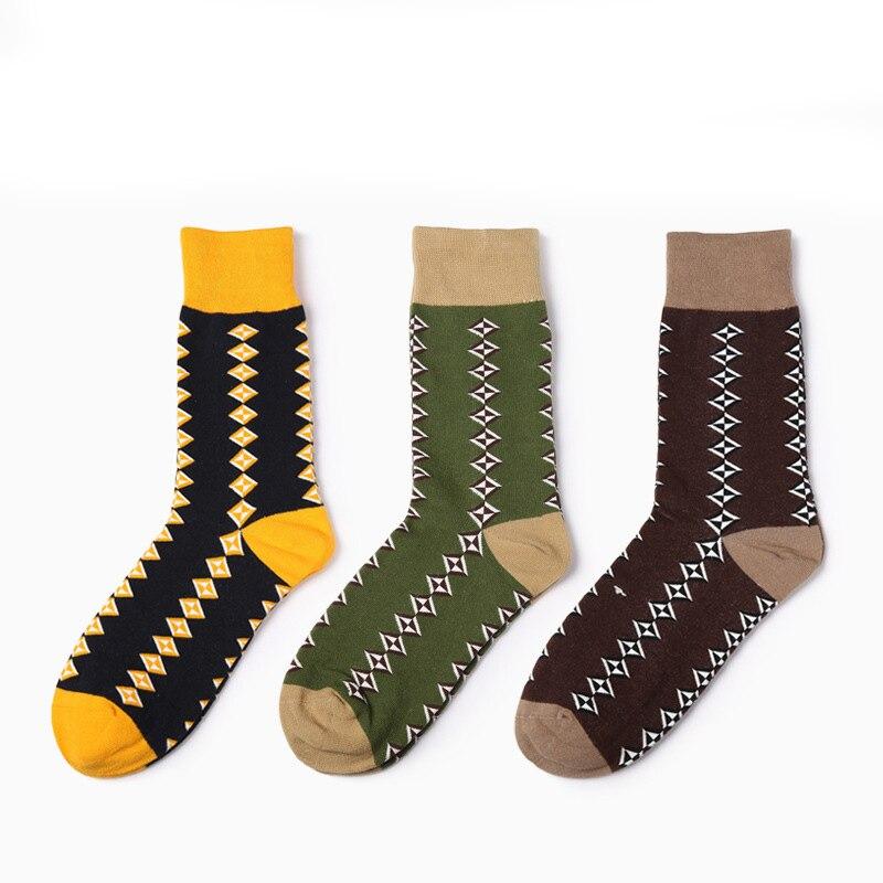 PEONFLY Business Affairs Gentleman Male Hosiery Combing Full Cotton Socks men Nation Nothing Bone Socks Socks dress