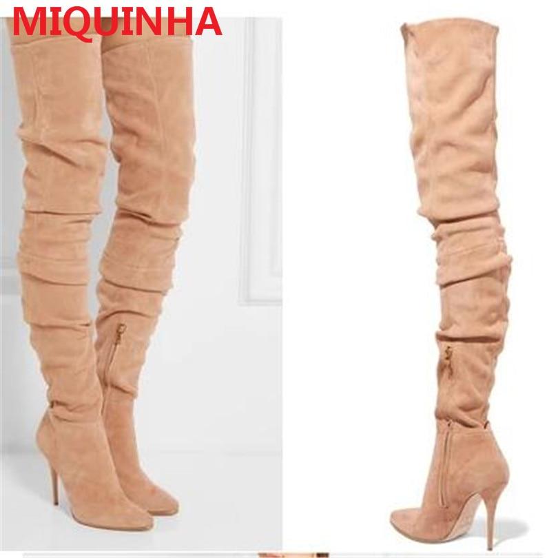 Online Get Cheap Comfortable Thigh High Boots -Aliexpress.com ...