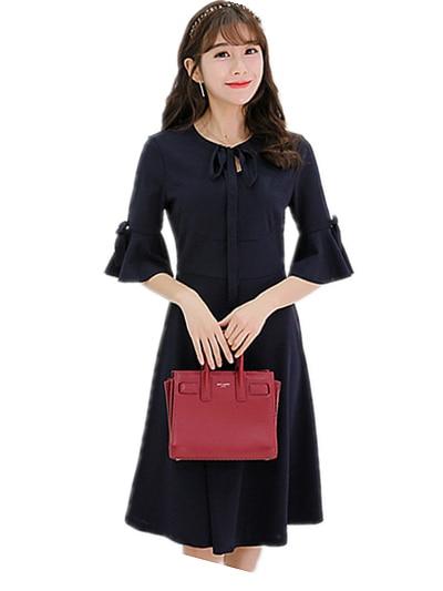 age 16-20y young girls dresses 2017 summer three quarter casual Robe de  fille big female children dress vestido de mujer 4642c240767