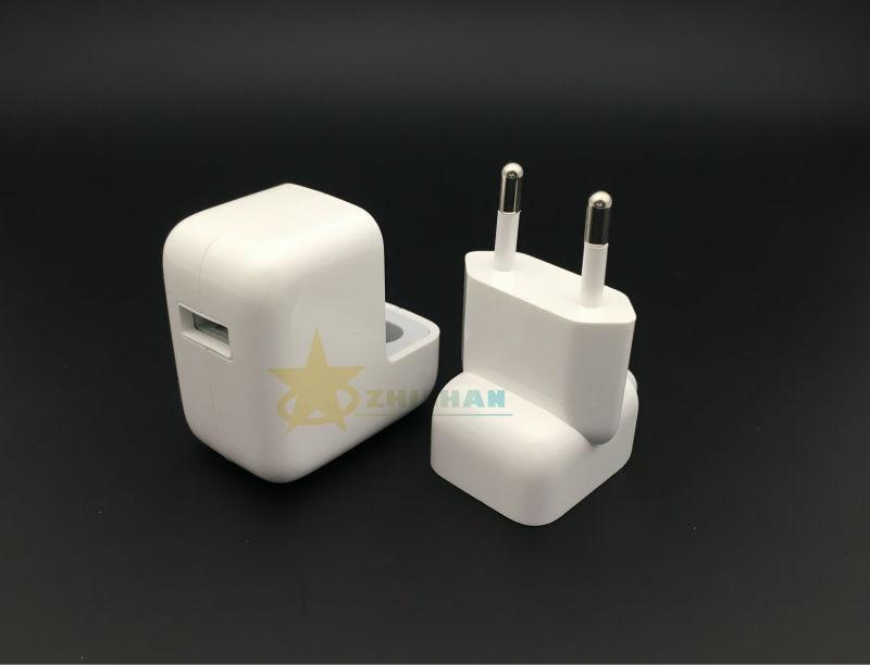 2.4 מהירות טעינה מקורי אירו/לנו iPad מטען מקורי 12W מתאם חשמל USB עבור iPad Mini iPhone6 5s 6s Plus-iPod עבור האיחוד האירופי/ארה