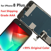 100% Grade AAA Screen for iPhone 8 8 Plus LCD Display Touch Digitizer Assembly Replacement 3D Touch Repair Fix Parts стоимость