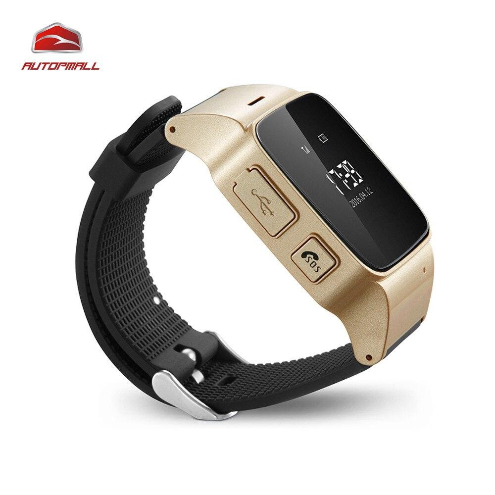 Смарт-часы GPS трекер D99 мини личные носимых устройства слежения Водонепроницаемый ip54 фунтов WI-FI отслеживания 160 часов в режиме ожидания