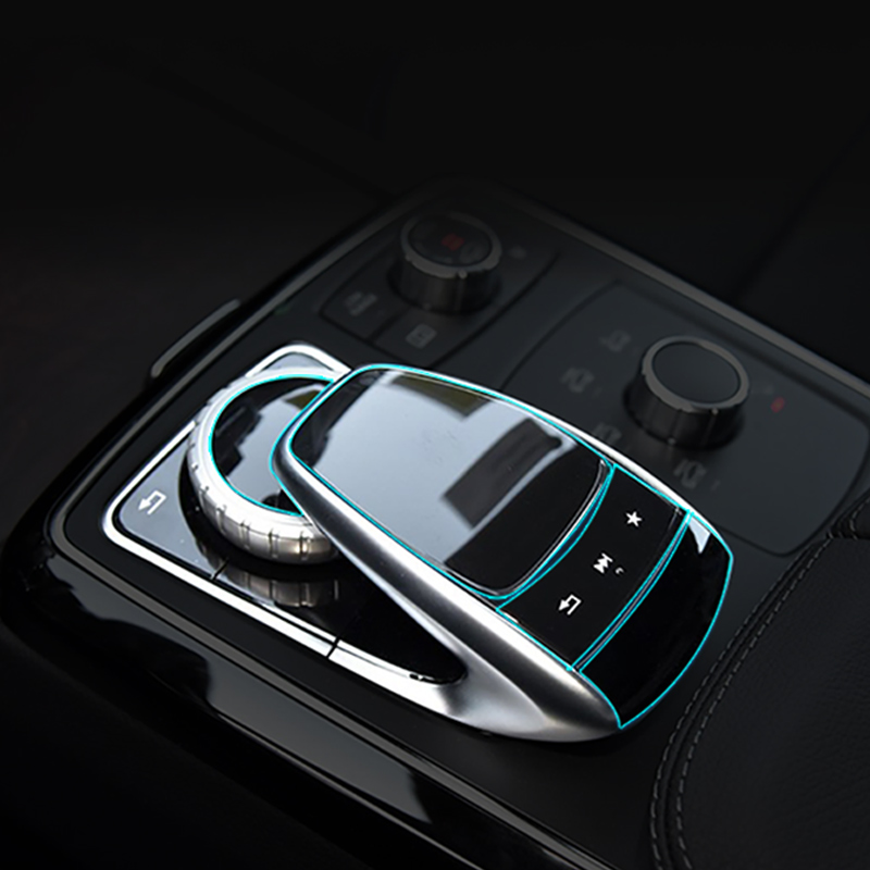 For Mercedes Benz Center console mouse touch protective film fit for C/E/S/V/GLC/GLE class