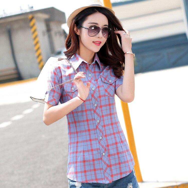 278d43e7778 ... Blusas Corta Camisas 16 Oficina Casual A Grande Manga 18 Algodón Blusa  3xl Delgada Mujeres Tops.