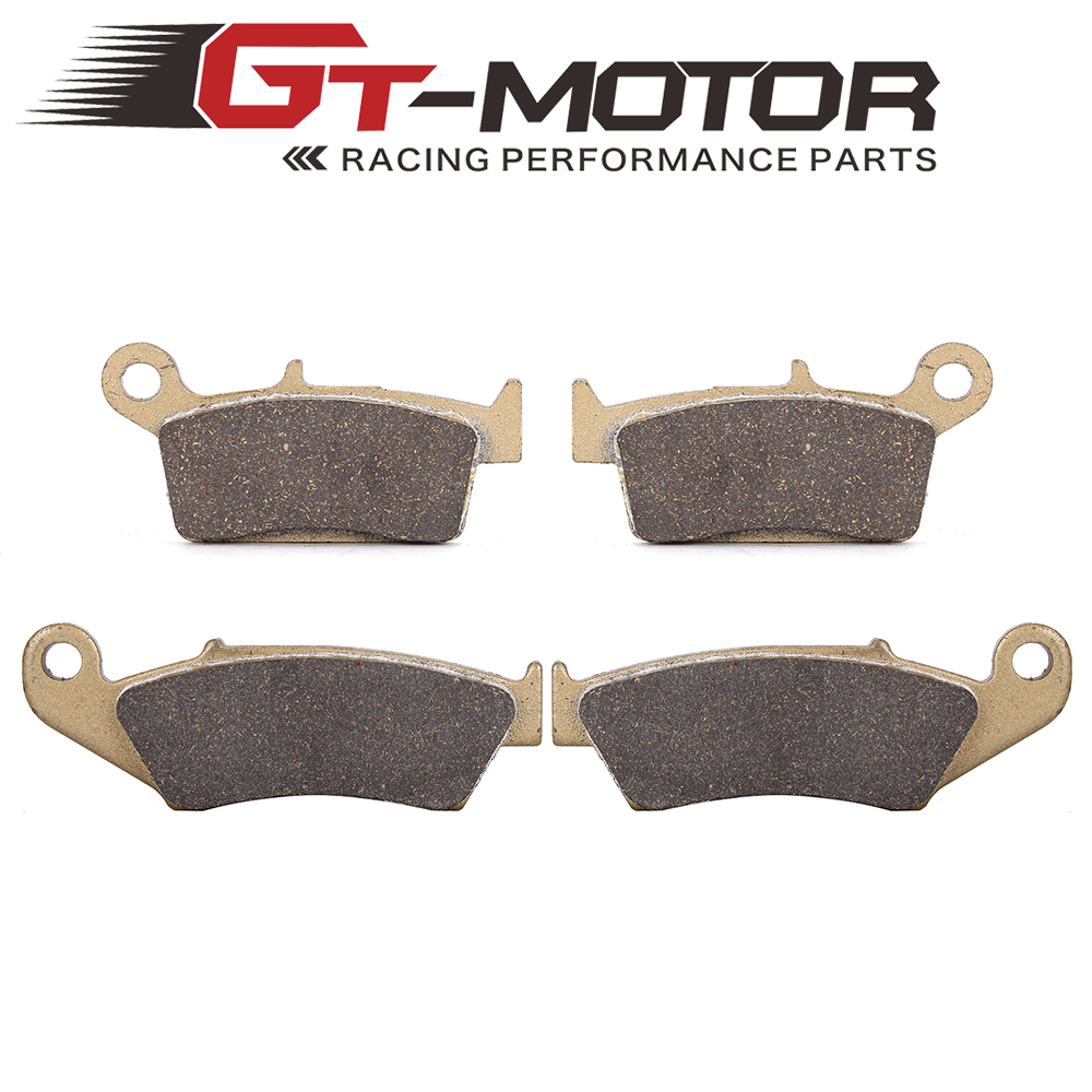 Motorcycle Front and Rear Brake Pads for Suzuki DRZ400 2000-009 RM125 RM250 1996-2006 RMX250 1999-2000 1999 2000 arctic cat 250 2x4 kevlar carbon front brake pads
