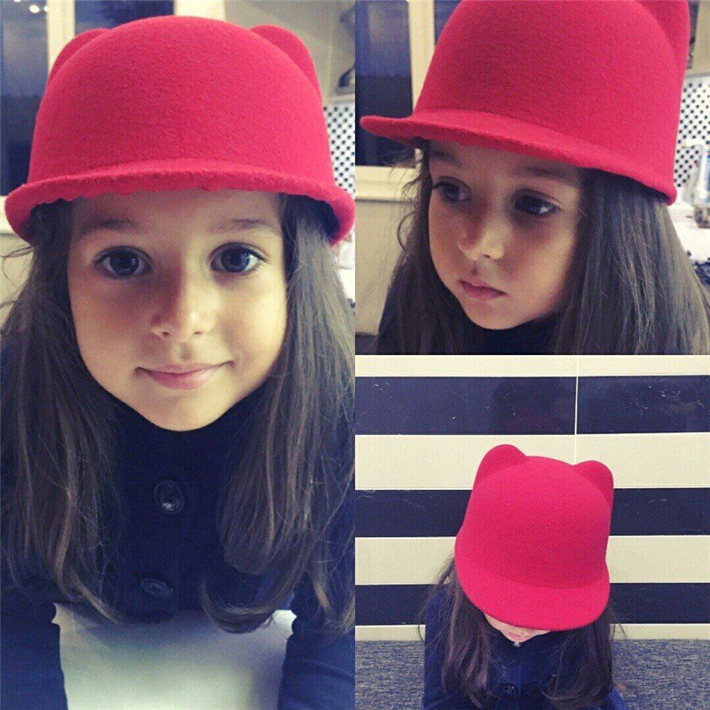 2017 New Kids Straw Hats Fedora Hat Children Beach Sun