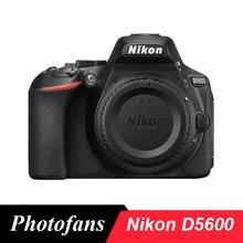 Цифровая зеркальная камера Nikon D5600-24,2 МП-Full HD 1080 p-Wi-Fi Bluetooth(новинка