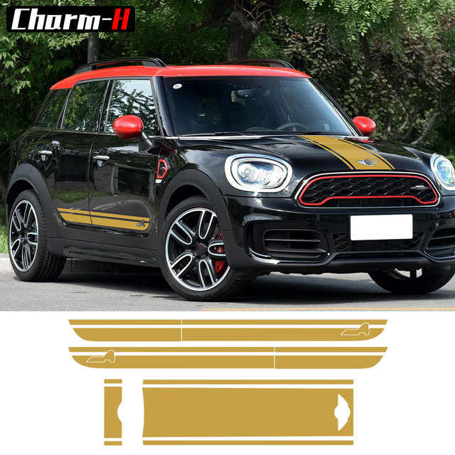 For Bmw Mini Cooper S Countryman F60 Hood Trunk Door Side Racing