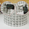 Mesh Trim Bling Diamond Wrap 24 Rows Crystal drill 10 yard Crystal Ribbons Wedding Party Decoration event party DIY supplies T30