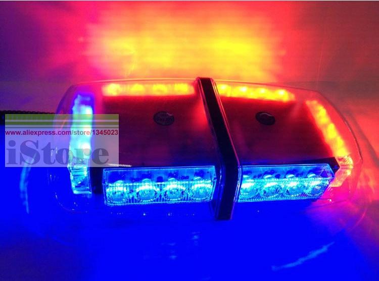 Led Roof Beacons Amp Warrior 12v Mini Light Bar Magnetic