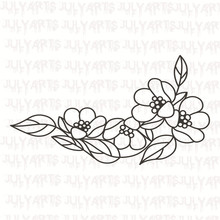 Eastshape Flower Leaf Stamps and Dies Rubber Clear Stamp Metal Cutting for Scrapbooking DIY Craft Card Decor Gift