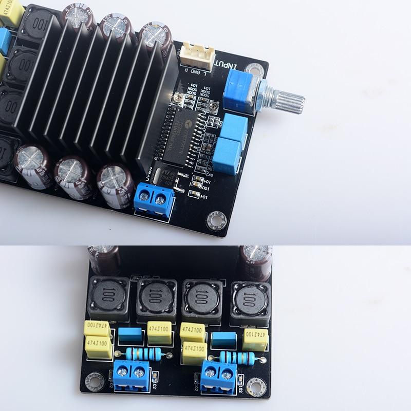 US $25 99 |STA508 TC2000 Cyfrowy Klasy D Wzmacniacz audio AMP Kit 80 w * 2  220 UF/50 V Mocy Dźwięku wzmacniacz w STA508 TC2000 Cyfrowy Klasy D